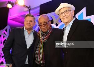Ted Sarandos, Norman Lear, Quincy Jones