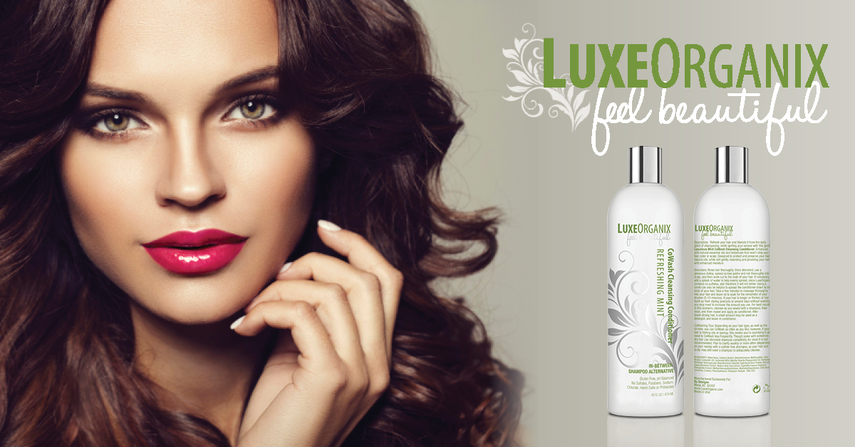 Co-Washing, the Latest Hair Care Secret as Explained by LuxeOrganix