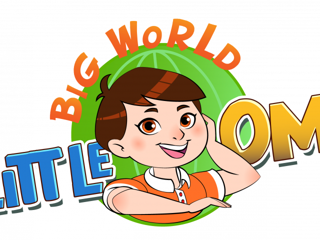 Big World, Little Om Wants to Change the World One Cartoon at a Time