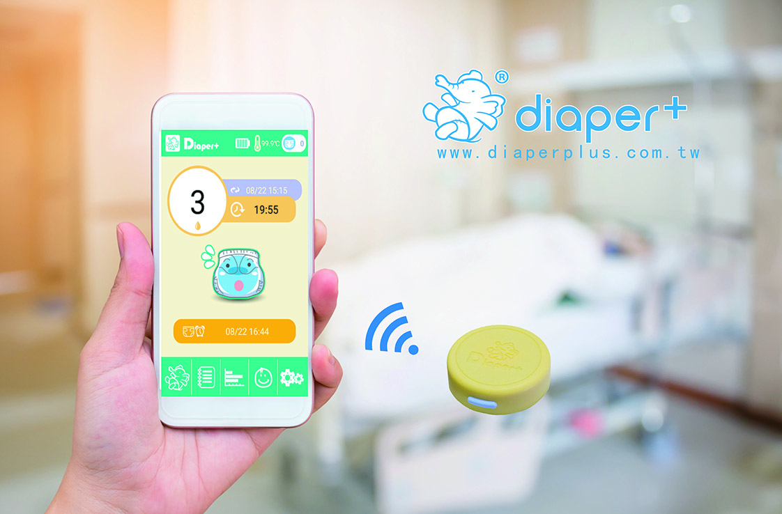 Revolutionary Diaper + System Monitors Temperature Change Instead of Moisture