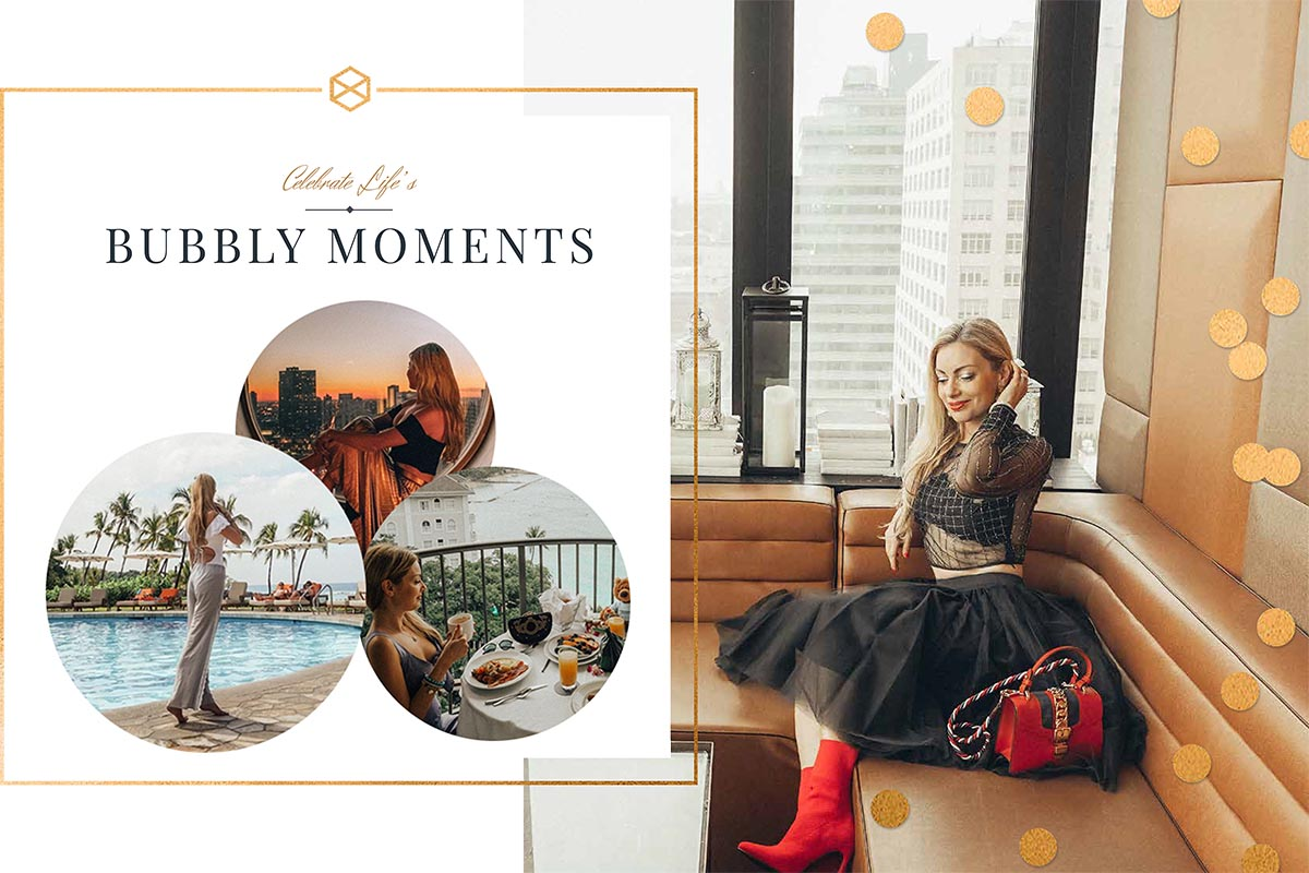 Meet the BubblyMoments Travel Blog, focused on Luxurious Destinations, Exclusive Places & Latest Fashion Trends