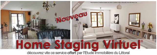 Home Staging Virtuel® un outil innovant au service de l'immobilier