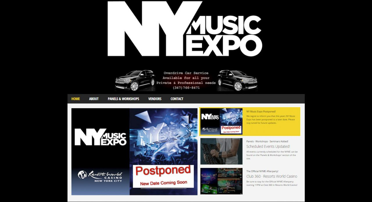 THE FIRST ANNUAL NEW YORK CITY MUSIC EXPO COMING TO NEW YORK