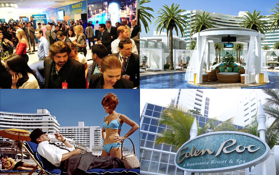 NATPE–Miami 2016 Market & Confab I Fontainebleau & Eden Roc Roll Out the Red Carpet and Sinatra Reigns Supreme.