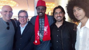 James uinlan_Rhythm Foundation,Stephen Ayayande, Producer Eagle House, Lagos Nigeria , Carlos and Johnny Ramirez, Musician