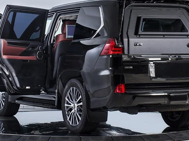 Armored Lexus LX570 SUV – Specifications and Features