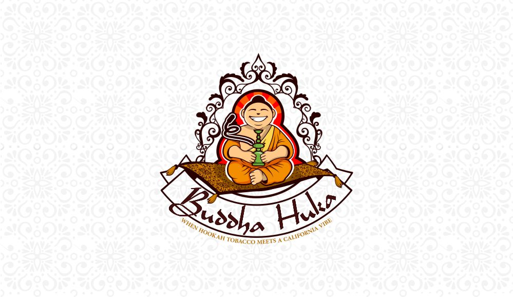 BUDDHA HUKA the first flavored Hookah tobacco brand carefully arranged in USPTO patent sealed plastic clear cans