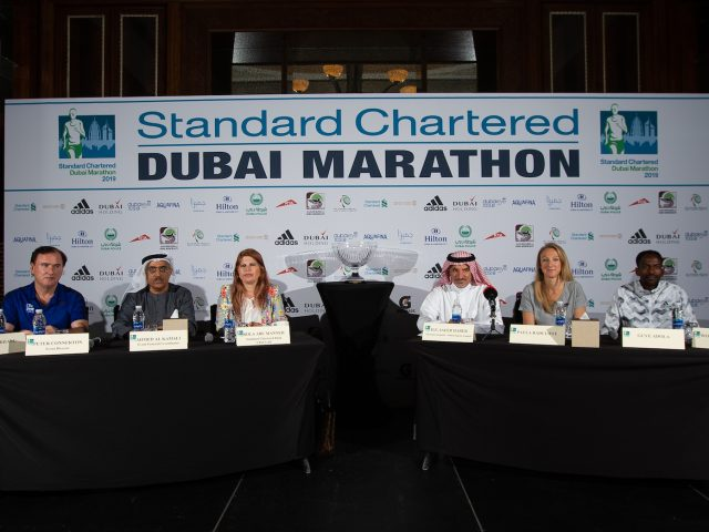 EYES OF THE RUNNING WORLD ON  2019 STANDARD CHARTERED DUBAI MARATHON