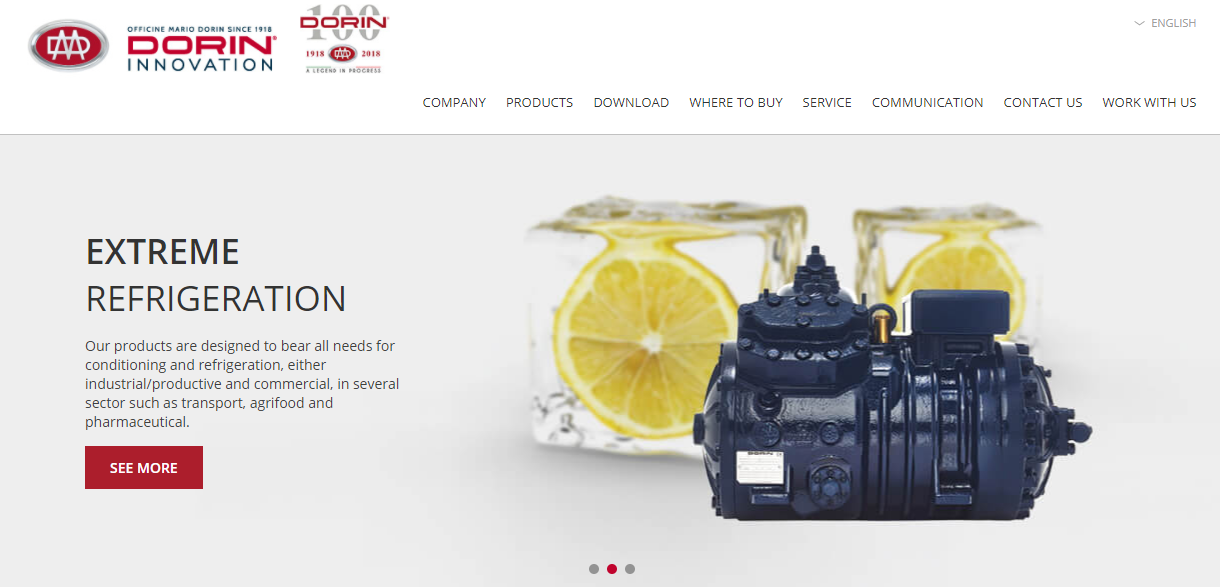 Officine Mario Dorin offers innovative solutions for refrigeration and air-conditioning